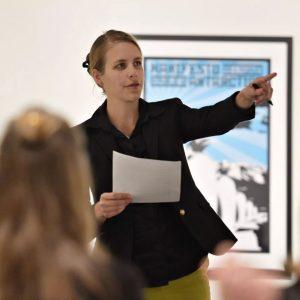 Art Historian Dr. Emily Moore