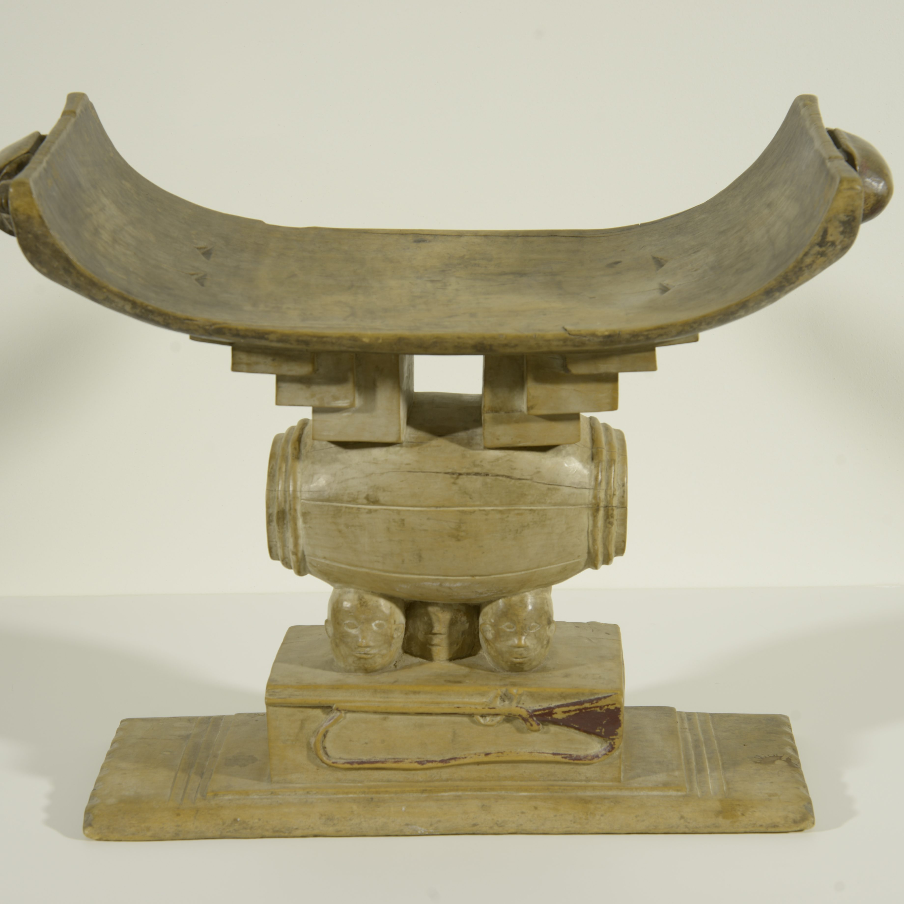 Unknown Asante Artist Ghana  Adwa/Amandwa (court Stool), early 20th century  Wood Gift of Richard and Jan De Vore, 1999.1.49