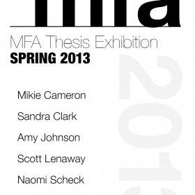 MFA Thesis Ex 2013